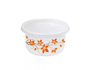 500ml White Round Container
