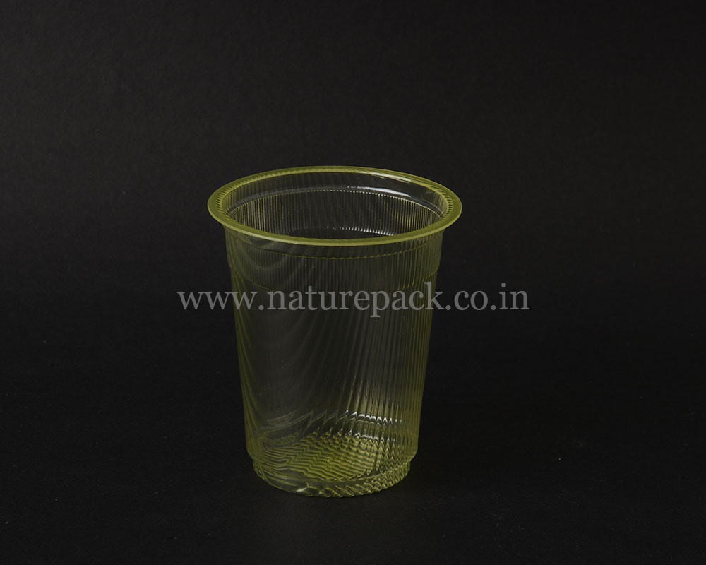 250ml Waves Yellow Cup